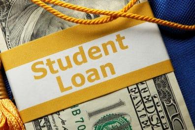 Student Loan Golden Tassel