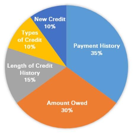 Credit Score Percentage