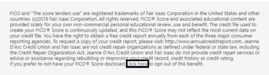 Unenroll from FICO Score